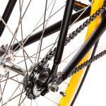 Quella Fixed Gear Bike Nero – Yellow-7005