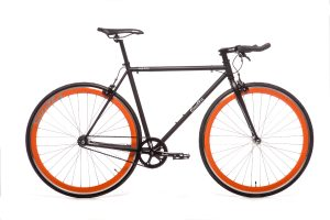 Quella Fixed Gear Faharrd Nero - Orange-0