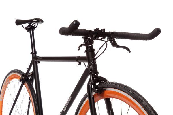 Quella Fixed Gear Bike Nero - Orange-6985
