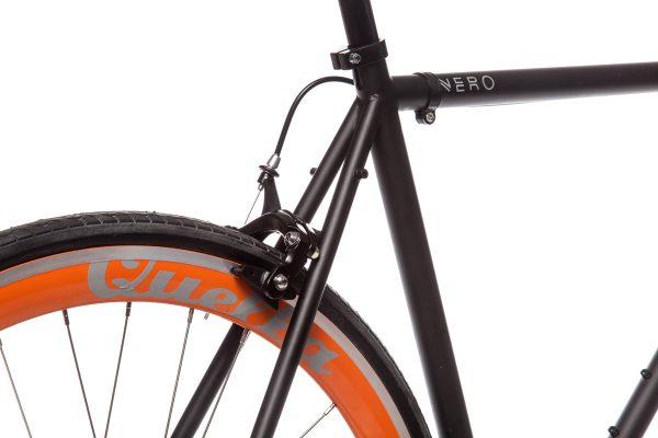 Quella Fixed Gear Bike Nero - Orange-6988