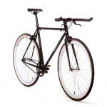 Quella Fixed Gear Bike Nero – White-6975