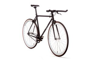 Quella Fixed Gear Bike Nero - White-6975