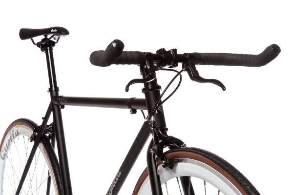 Quella Fixed Gear Bike Nero - White-6976