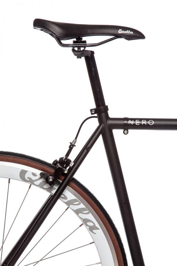 Quella Fixed Gear Bike Nero - White-6978