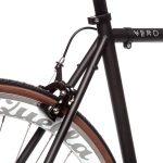 Quella Fixed Gear Bike Nero – White-6979