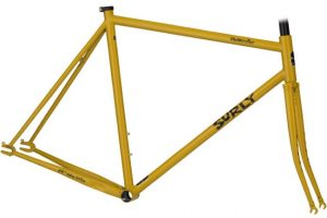 Surly Steamroller Track Frame Kit 700C Yellow-0