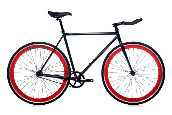 Quella Fixed Gear Faharrd Nero - Rot-0