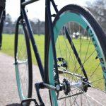 Quella Fixed Gear Bike Nero – Turquoise-7032
