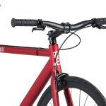 6KU Fixie Fiets Track Burgundy Rood-7204