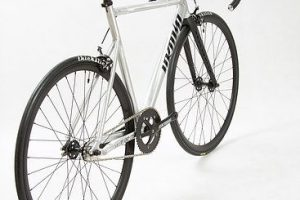 Unknown Bikes Fixed Gear Bike PS1 - Silver-7440