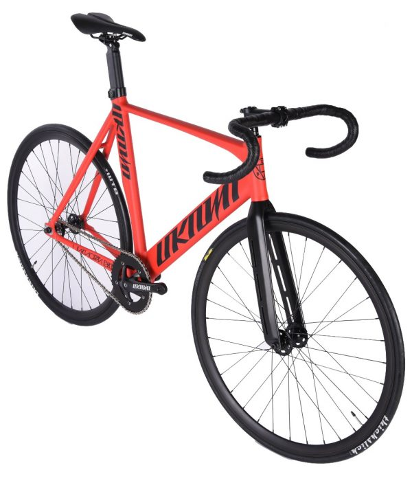 Unknown Bikes Fixed Gear Bike Singularity - Red-7481