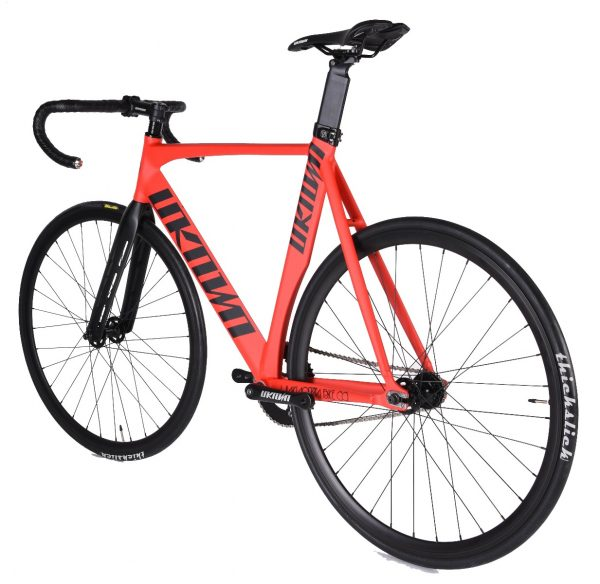 Unknown Bikes Fixed Gear Bike Singularity - Red-7485