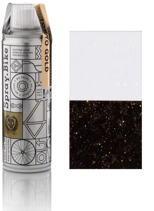 Spray.bike Bicycle Paint Keirin Sunlight Collection - Tokyo Gold-0