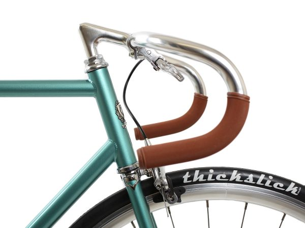 BLB City Classic Fixie & Single-speed Bike - Green-7983