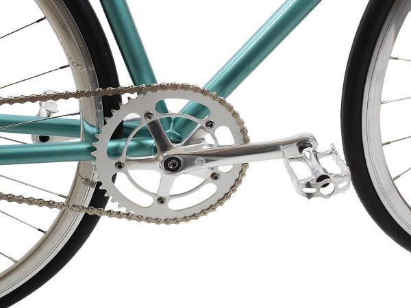 BLB City Classic Fixie & Single-speed Bike - Green-7985