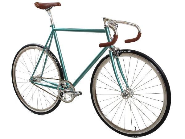 BLB City Classic Fixie & Single-speed Bike - Green-7988