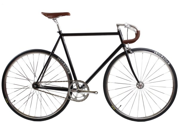 BLB City Classic Fixie & Single-speed Fahrrad - Schwarz-0