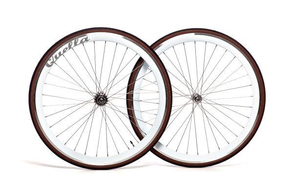 Quella Bikes 40MM Deep-V Wheelset-8052
