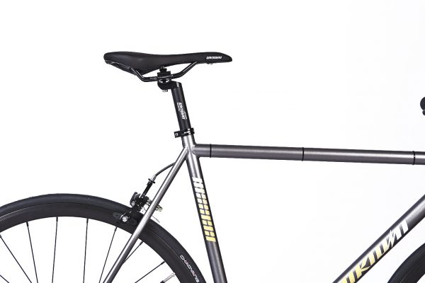 Unknown Bikes Fixed Gear Bike SC-1 - Gray -7957