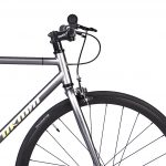 Unknown Bikes Fixed Gear Bike SC-1 – Gray -7958