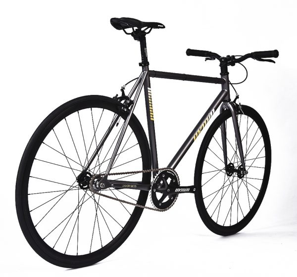 Unknown Bikes Fixed Gear Bike SC-1 - Gray -7960
