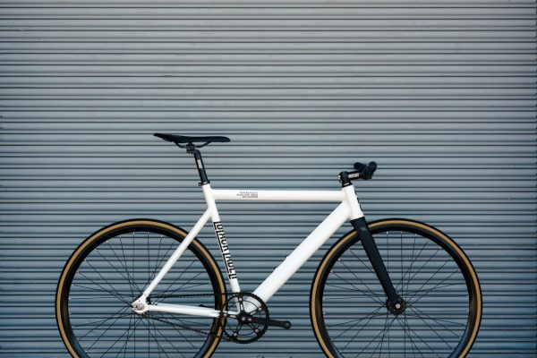 State Bicycle Co. Fixed Gear Bicycle Black Label v2 Pearl White-11299