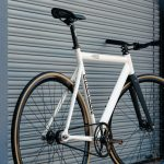 State Bicycle Co. Fixed Gear Bicycle Black Label v2 Pearl White-11302