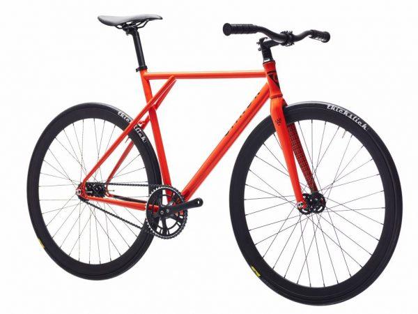 Poloandbike Fixed Gear Bicycle CMNDR 2018 CO4 - Orange-11372