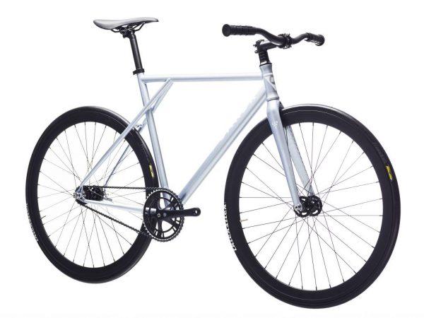 Poloandbike Fixed Gear Bicycle CMNDR 2018 CG2 - Silver-11375