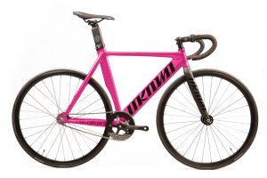 Unknown Bikes Fixed Gear Fahrrad Singularity - Rosa-0